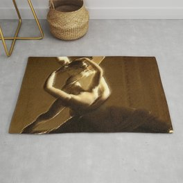 Psyche Revived Sunlight and Cupid's Kiss Portrait by Jéanpaul Ferro Rug