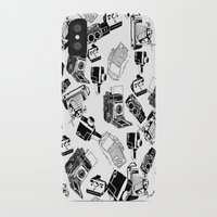 cameras iPhone & iPod Cases featuring Cameras by Cellar Door Photography