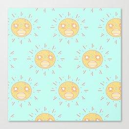 Upset Suns Canvas Print