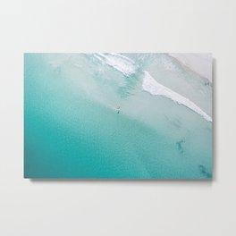Leighton Beach Aerial Metal Print