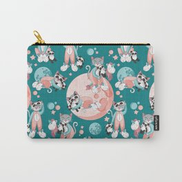 Cats, pandas and unicorns I Carry-All Pouch