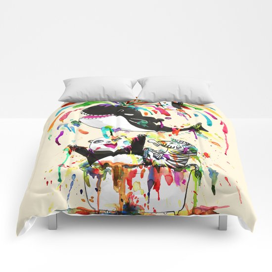 Yay! Whale of a Bath Time! Comforters