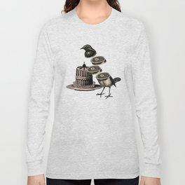 Deconstructed bird Long Sleeve T-shirt