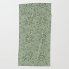The Night Gardener - Endpapers Beach Towel
