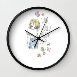 What Would Dolly Do? Wall Clock