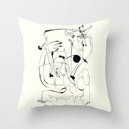 Matador Throw Pillow