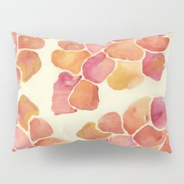 Red Leafes Pillow Sham