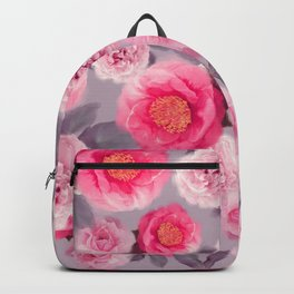 seamless   rose  pattern . Endless texture for your design Backpack