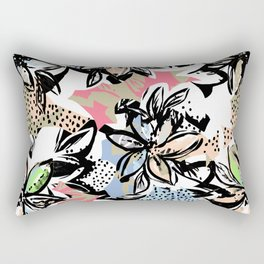 Big flower Rectangular Pillow