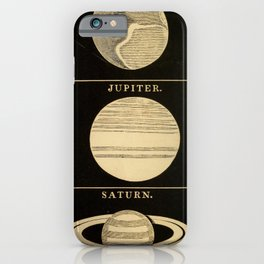 Kendall - Uranography; or a Description of the Heavens (1850) - The Major Planets iPhone Case