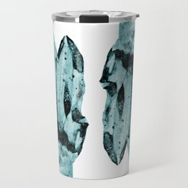 blue raspberry crystal cluster Travel Mug