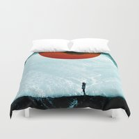 arya stark Duvet Covers featuring Found in isolation by Stoian Hitrov - Sto