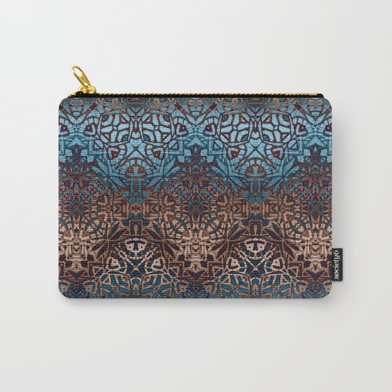 Ethnic Tribal Pattern G329 Carry-All Pouch