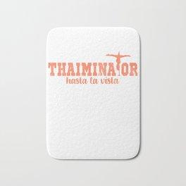 Thaiminator Holidays in Thailand Bath Mat