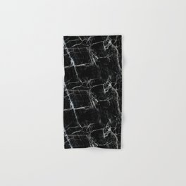 Black Marble Edition 1 Hand & Bath Towel