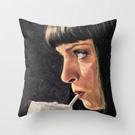 5 Dollar Milkshake Throw Pillow