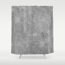 Simply Concrete II Shower Curtain