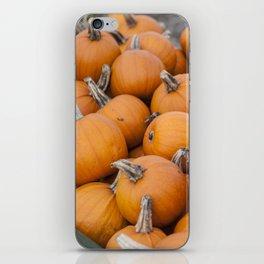 Halloween Pumpkins iPhone Skin