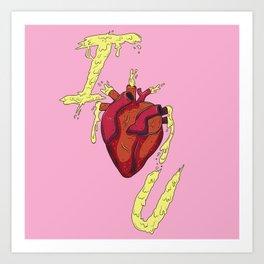 I Organ U Art Print