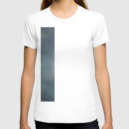 Unique Dark Patterned Leather T-shirt