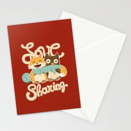 Love is Sharing Stationery Cards