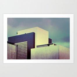 Brutalist Buildings - Los Angeles #46 Art Print