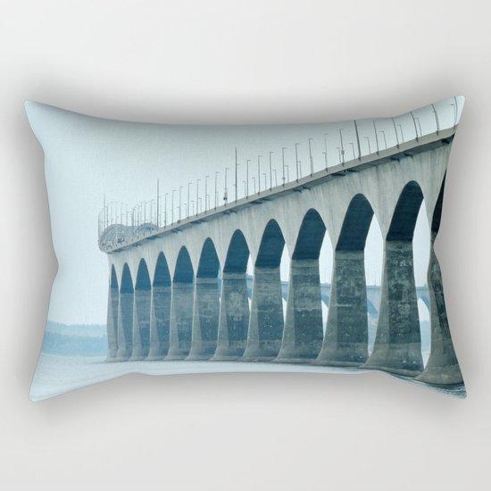 Confederation Bridge Prince Edward Island Rectangular Pillow