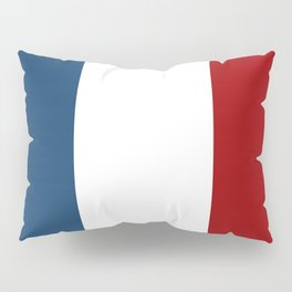 France: French Flag Pillow Sham