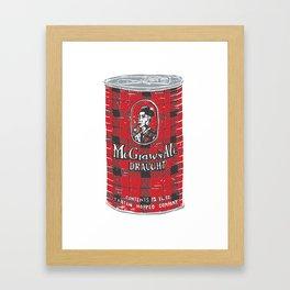 McGraws Ale Framed Art Print