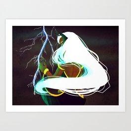 Ororo Munroe Art Print