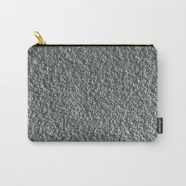 Rough Blue Granite Wall Texture Carry-All Pouch