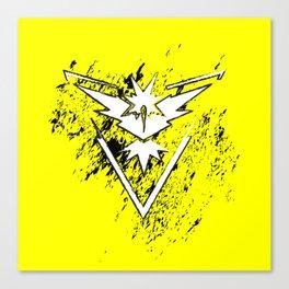 Team Yellow Canvas Print