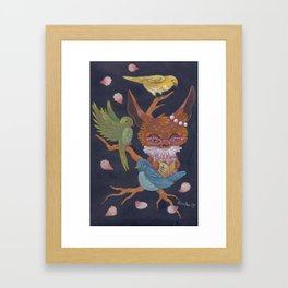 birds song Framed Art Print