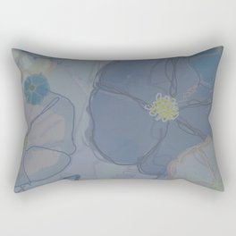 Foggy Morning Glories Rectangular Pillow