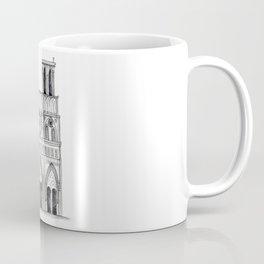 Notre Dame Sketch Coffee Mug