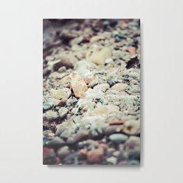 Pebbles I Metal Print
