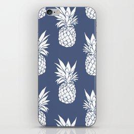 Pineapple Blues iPhone Skin