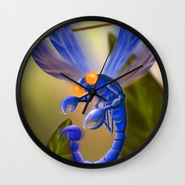 Scorp-Fly Wall Clock