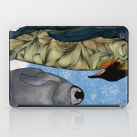 tiffany iPad Cases featuring Emperor Penguins by Ben Geiger