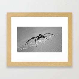 Creepy Crawler Framed Art Print