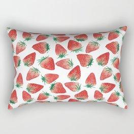 Strawberry Love Rectangular Pillow