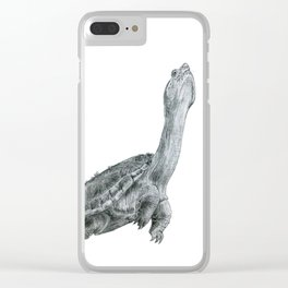 Reaching Turtle Clear iPhone Case