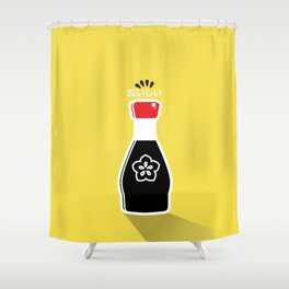 In My Fridge - Soy Sauce Shower Curtain