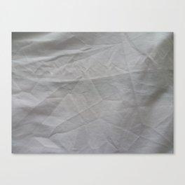 White Sheets Canvas Print
