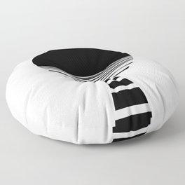 BLACK DAWN Floor Pillow