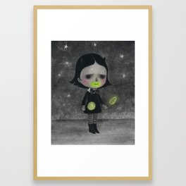 Contaminated Candy Framed Art Print