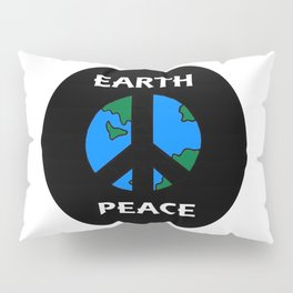 Earth Peace Pillow Sham
