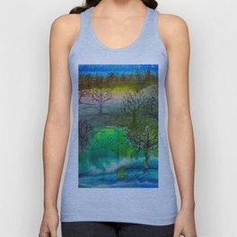 A Walk with Trees Unisex Tank Top