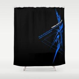 neuromancer Shower Curtain