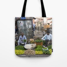 Limes Lemons and spices Tote Bag